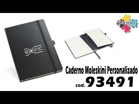 Caderno Moleskine 93491 Personalizado - Criative Brindes