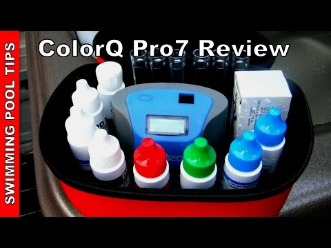 LaMotte 2056 ColorQ Pro 7 Digital Pool Water Test Kit - Review & Overview