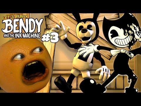 Annoying Orange Plays - Bendy & the Ink Machine #3: HEY BORIS! HEY!