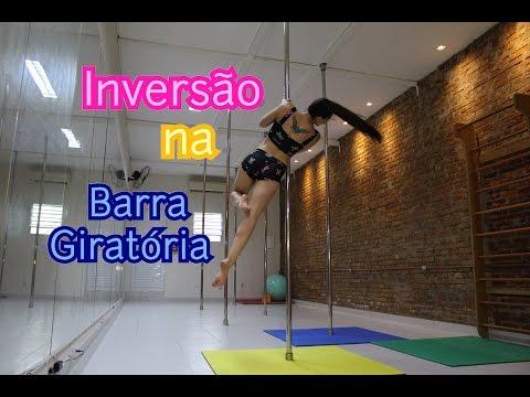 Como inverter na Barra Giratória - Tutoriais de Pole Dance por Alessandra Rancan