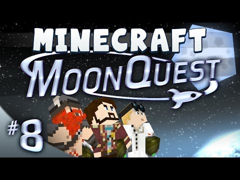 Minecraft Galacticraft - MoonQuest Episode 8 - Adorkable