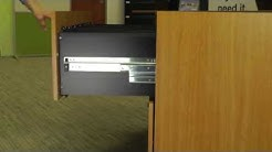 BBF Product Installation- Lateral File Drawer Removal (Video #11)