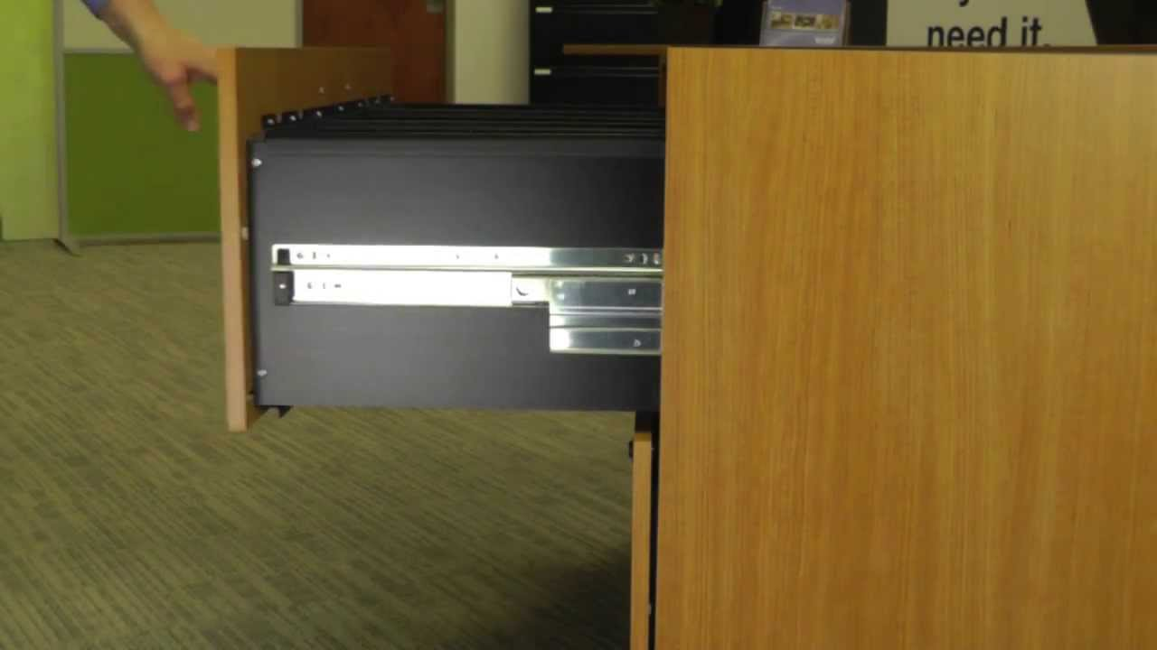 BBF Product Installation Lateral File Drawer Removal