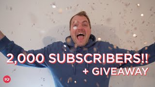 2,000 SUBSCRIBER SPECIAL (+ Giveaway)