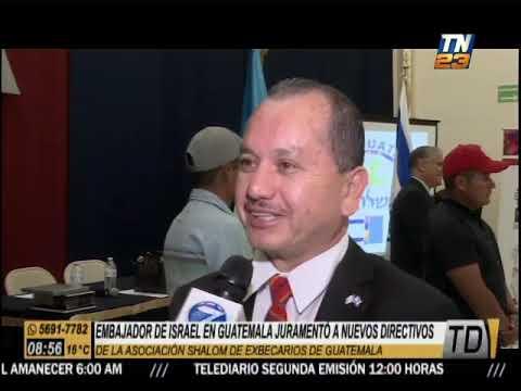 Embajada De Israel En Guatemala Juramenta A Nuevos Directivos