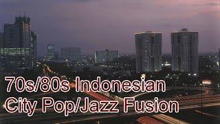 70s/80s Indonesian City Pop/Jazz Fusion (Pop Kreatif/Pop Urban)