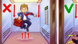 The Only Way to Survive in a Free Falling Elevator