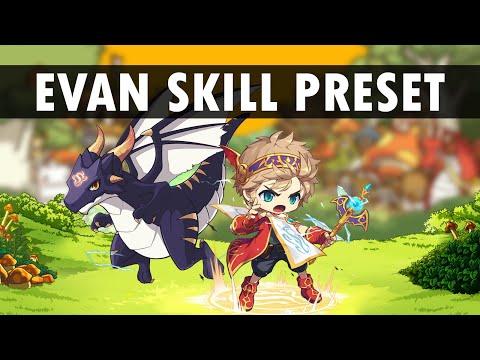 Maplestory M - Evan Skill Preset Revise