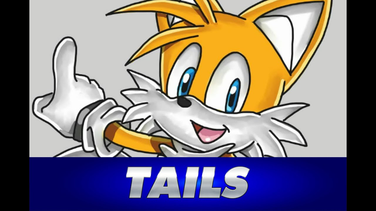 Cmo dibujar a TAILS de Sonic  How to draw Tails from Sonic  YouTube