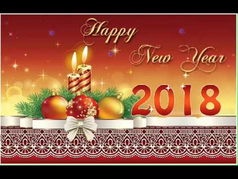 Happy New Year 2018 Wishes Greeting Card - YouTube