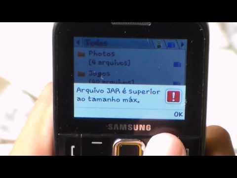 Como Aumentar A Memoria De Jogos Do Celular Samsung GTE-2220 ( Marcos Ensina )