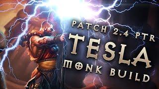"2.4 Monk ""Tesla"" Build: Static Charge Dual-Gen - Diablo 3 Reaper of Souls PTR"