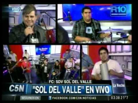 C5N - MUSICA EN VIVO: SOL DEL VALLE EN LA NOCHE