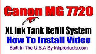 CIS-CISS For Canon Pixma MG7720 World's First Ink Tank Refill System!(See Link: https://www.inkproducts.com/ink-store441/home.php?cat=205., 2016-09-18T00:15:44.000Z)