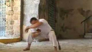 Queda de quatro, Capoeira technique from the Akban-wiki