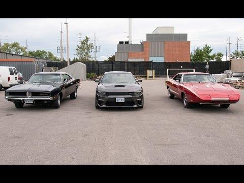 Dodge Charger Daytona vs. Stock Charger vs. Hellcat: Wind Tunnel