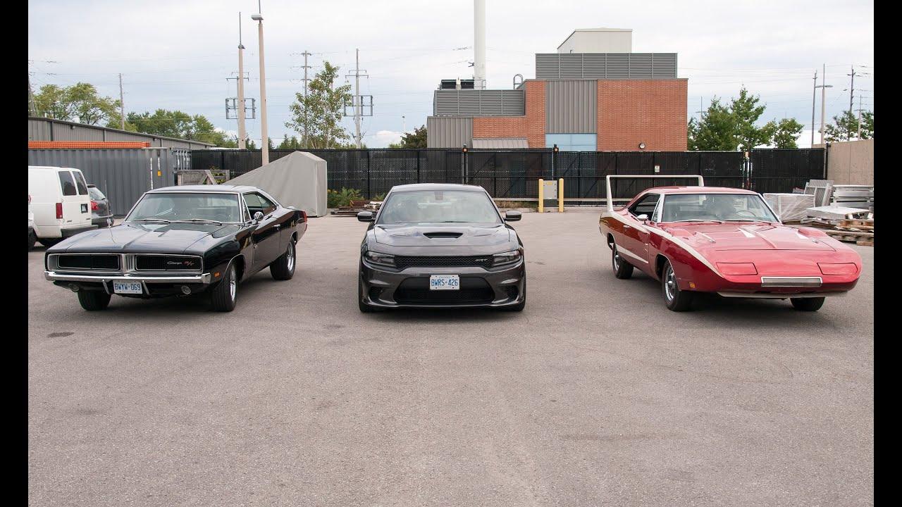 Dodge Charger Daytona Vs Stock Charger Vs Hellcat Wind