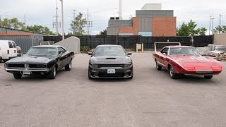 Dodge Charger Daytona vs. Stock Charger vs. Hellcat: Wind Tunnel