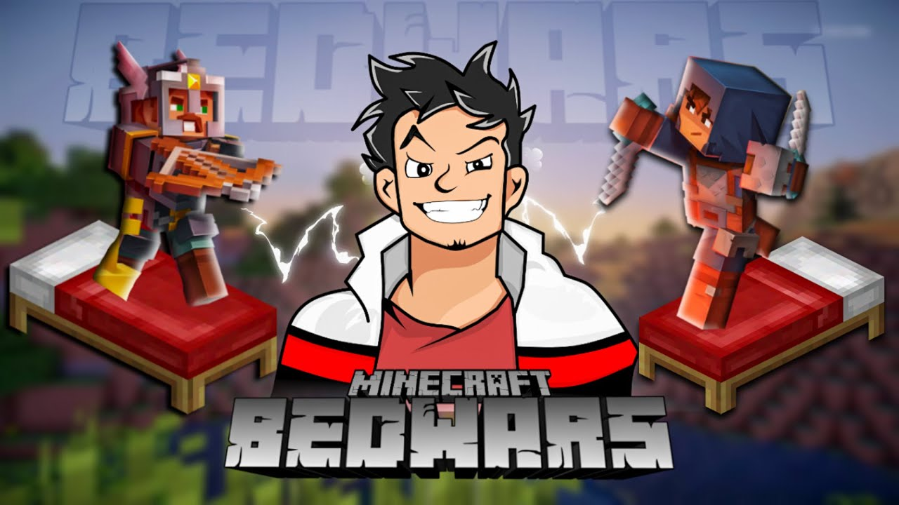 BEDWARS GONE WRONG WITH @AndreoBee |MINECRAFT HYPIXEL