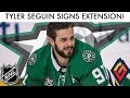 TYLER SEGUIN SIGNS EXTENSION WITH DALLAS STARS!