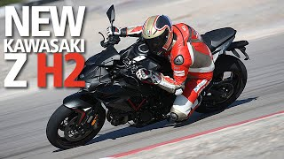 Kawasaki Z H2 REVIEW - supercharged supernaked with 197bhp!
