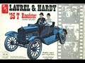 What's in the Box? Vintage 1925 Laurel and Hardy Ford Model T Model Kit