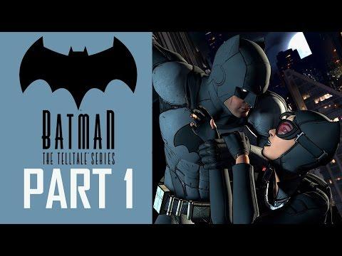 Batman Telltale Series Walkthrough Episode 1 - Gameplay Part 1 - Catwoman