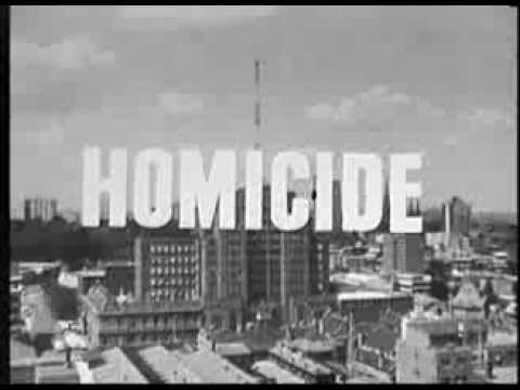 16mm Homicide  Opening Titles (B&W)