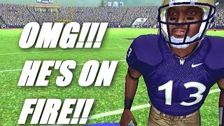 JD THROWS A PERFECT GAME!!?? NCAA FOOTBALL 11 QB ROAD TO GLORY (PS2)