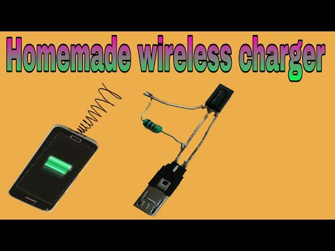 Make Wireless Charger At Home . वायरलेस चार्जर बनाने का तरीका.Chauhan Electronic Experiment .