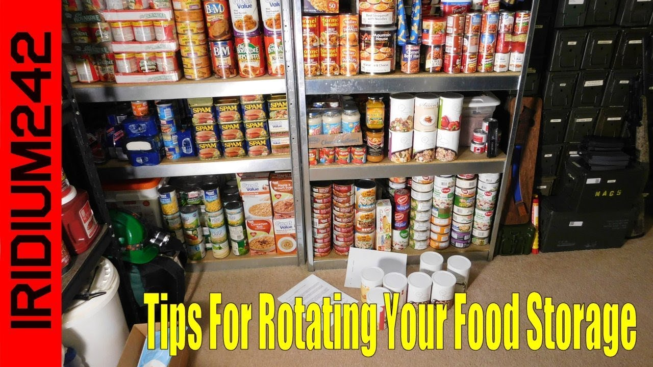 doomsday preppers food storage