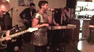 Lady Funk & The Frequency  perform Express Yourself - Live Funk Band Cover