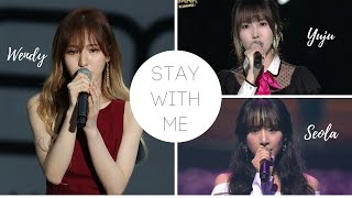 Download Video Stay With Me - Chanyeol (Wendy vs Yuju vs SeolA) 찬열 (웬디 vs 유주 vs 설아) MP3 3GP MP4