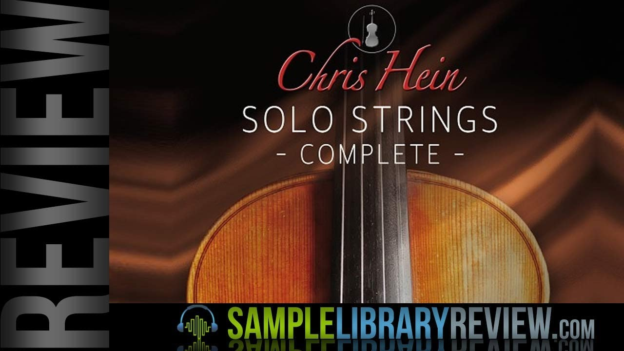 Review: Chris Hein Solo Strings Complete available at Best Service