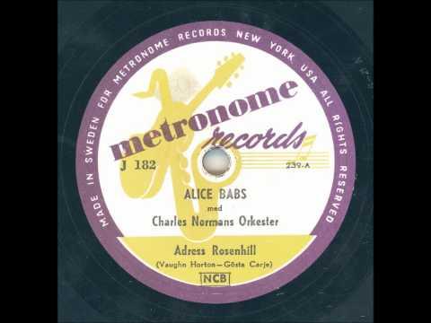 Alice Babs - Adress Rosenhill