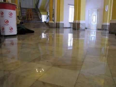 Renovation, grinding and polishing stone, marble, granite, conglomerate floors