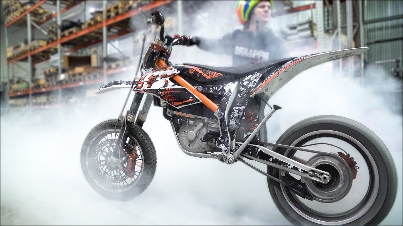 electric supermoto ktm e sx youtube. Black Bedroom Furniture Sets. Home Design Ideas