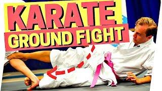 3 KARATE GROUND FIGHTING VIDEOS BJJ, MMA OKINAWA KARATE