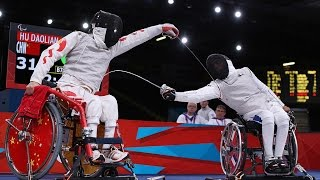 Wheelchair Fencing | China v Hong Kong | Women's Team Epee - Final | Rio 2016 Paralympic Games