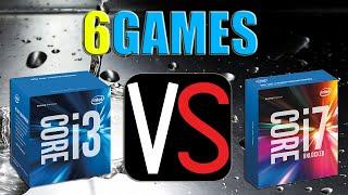 i3-6100 OC 4.6Ghz vs i7-6700k Stock | GTX 970 OC | 2560 x 1440 | in 6 games