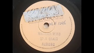 Gogi Grant 'The Wayward Wind' 1956 Demo 78 rpm