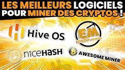 Les meilleurs logiciels pour miner des crypto