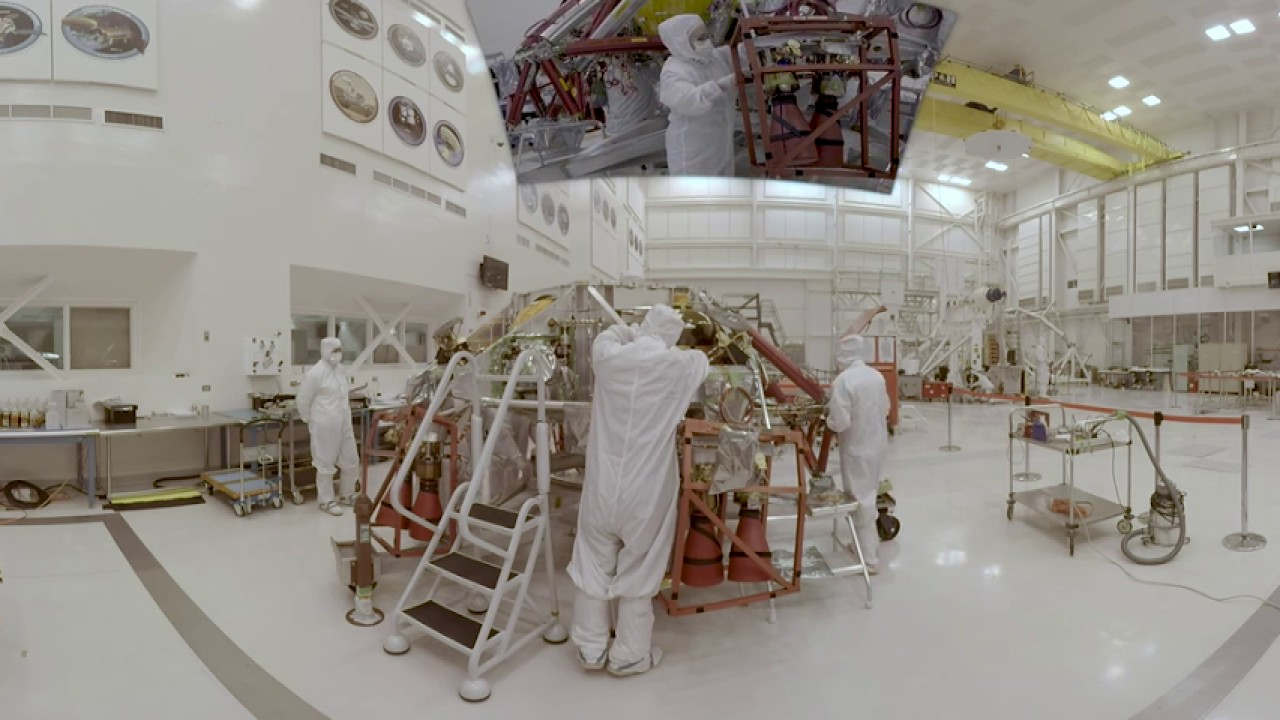 Engineering for Mars: Building the Mars 2020 Mission (360 video)
