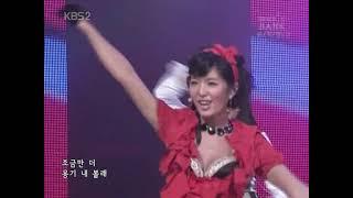 원더걸스서지영   Irony   뮤직뱅크   2007 03 11