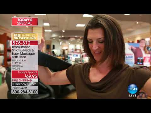 HSN | Brookstone Gifts featuring Massage 11.20.2017 - 04 PM