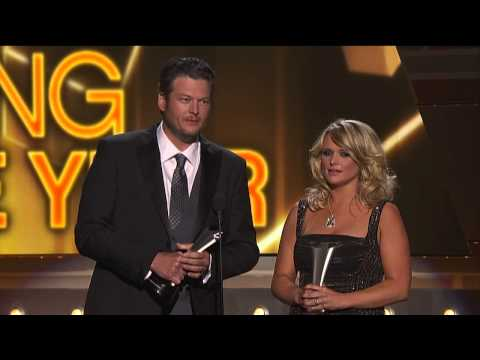 Miranda Lambert & Blake Shelton ACM Song of the Year for