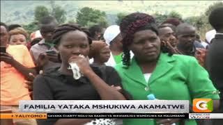 Kizaazaa mazishini Nakuru