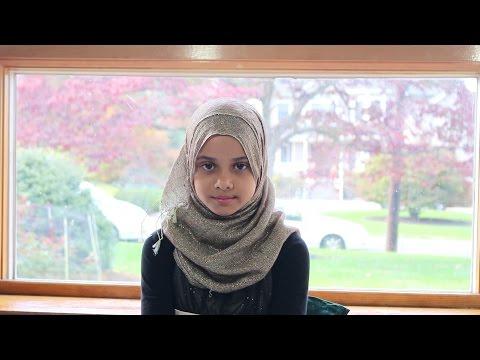 Maryam is reciting Surah Al-Inshiqaq