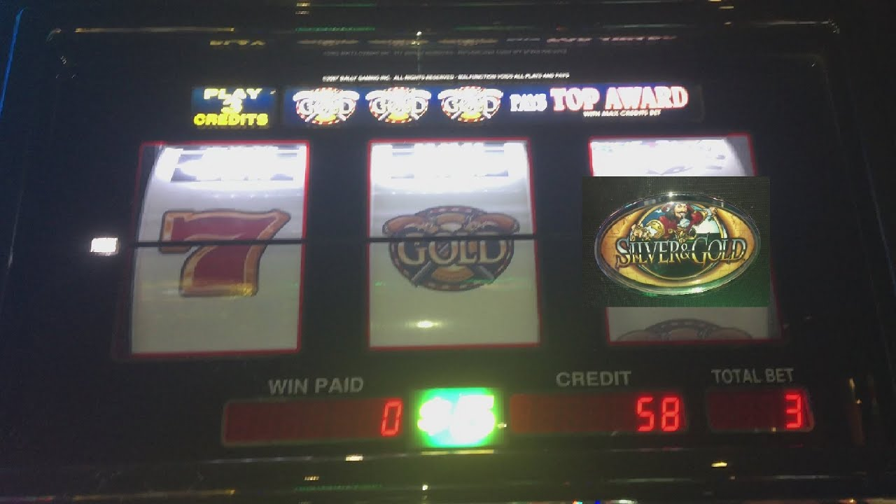 Gold And Silver Slot Machine