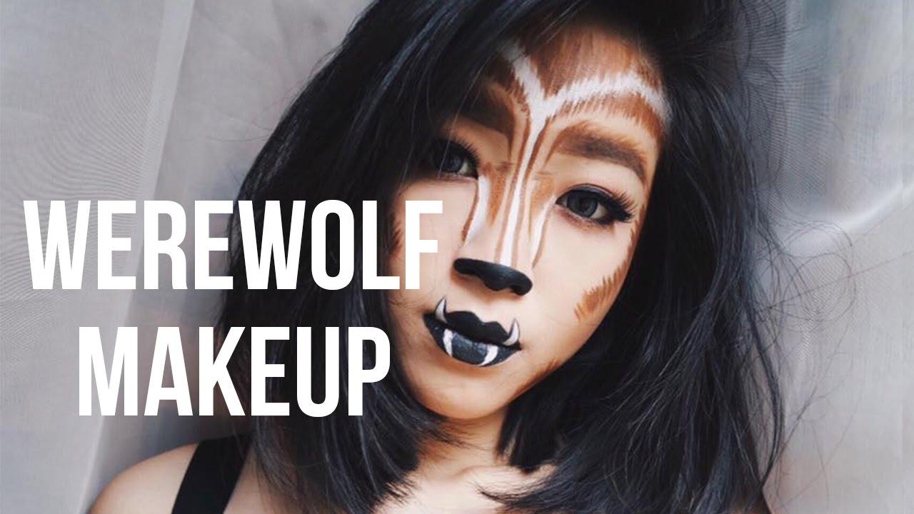 Werewolf makeup